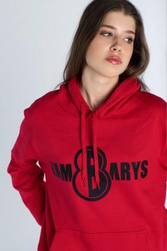 Džemperis 8 KAMBARYS - Raudonas
